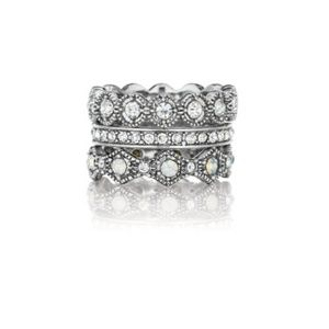 Chloe & Isabel Heirloom stackable rings - size 8